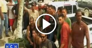 Llegada a Honduras de 19 balseros cubanos desde Camagüey