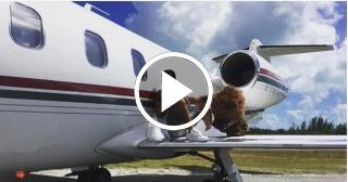 Se estrella el avión en el cual viajaba el cantante J.Balvin. El cantante salió ileso