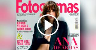 """Ana de Armas habla sobre su portada para """"Fotogramas"""""""