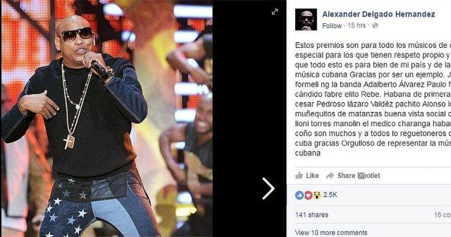 Alexander Delgado (Gente D´ Zona)